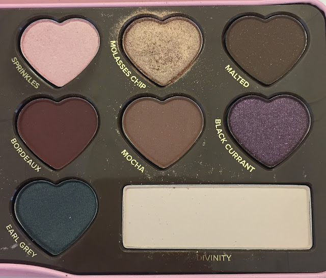 Too Faced, Too Faced Chocolate Bon Bons Eye Shadow Collection, eyeshadow, eye makeup, makeup palette, Sprinkles, Bordeaux, Earl Grey, Mocha, Divinity, Black Currant, Molasses Chip, Malted