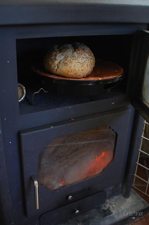 pan y horno de estufa