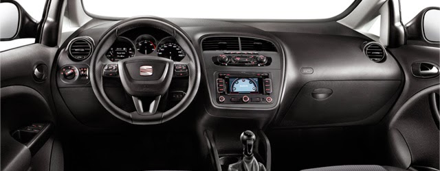 Interior del Seat Altea XL I-Tech