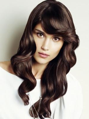 peinado cabello largo mujer