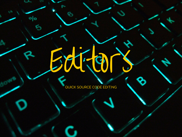List of Top 10 Simple Source Code Editors for quickly editing programs and scripts