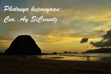 Purnama di Pulau Merah - Banyuwangi