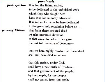 comparing pericles' funeral oration to sogoyewaphas 250000 free comparison of the lincoln's gettysburg address and pericles funeral oration papers & comparison of the lincoln's gettysburg address and pericles funeral.