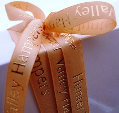 Golden Christmas Ribbon for presentation gift boxes 2013