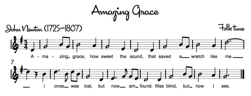 Amazing Grace Recorder Backing - YouTube