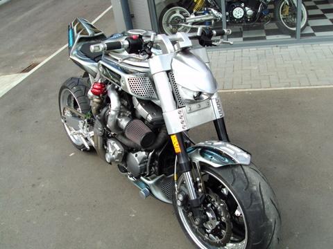 Yamaha MT01 Turbocharged | Custom Yamaha MT01 | Motorcycle Turbocharger | Yamaha MT01 Custom | Yamaha MT01 Street fighter