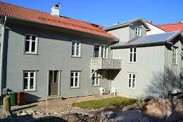 Hus från 1860 med nytt trapphus. Renoverat med passivhusambitioner