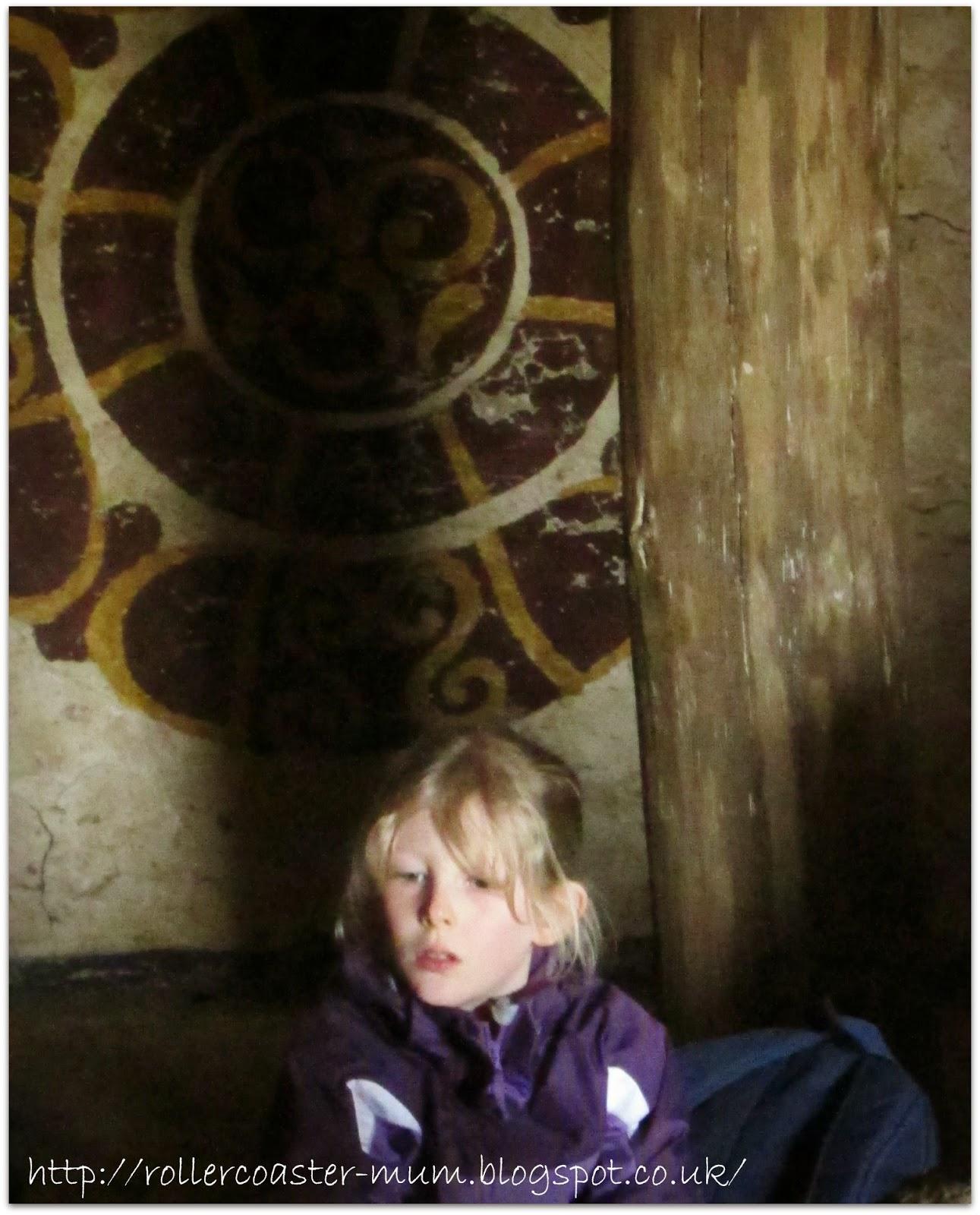 celtic wall art , roundhouse, Butser Ancient Farm