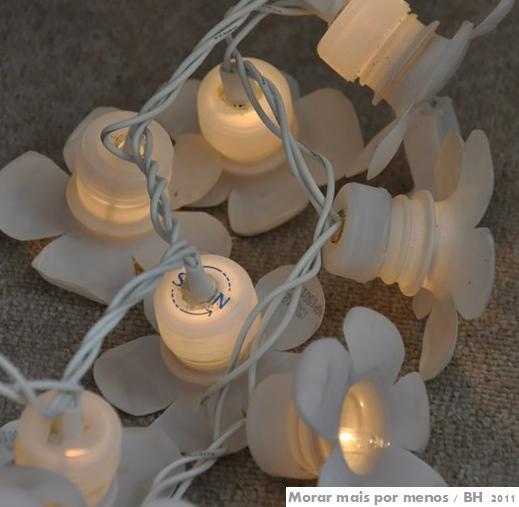 Ana Braga Artesanatos Como fazer uma luminária usando  ~ Como Fazer Uma Luminaria Para Quarto