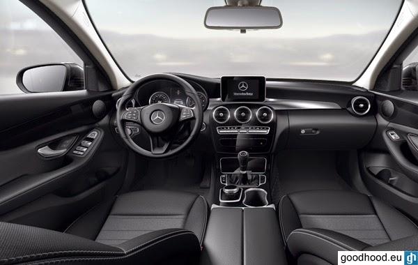 Mercedes benz c class estate w205 2014 price specs fuel consumption dimensions performance - 2014 mercedes c class interior ...