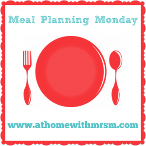 our family meal plan for this week 09/06/2014 - £47