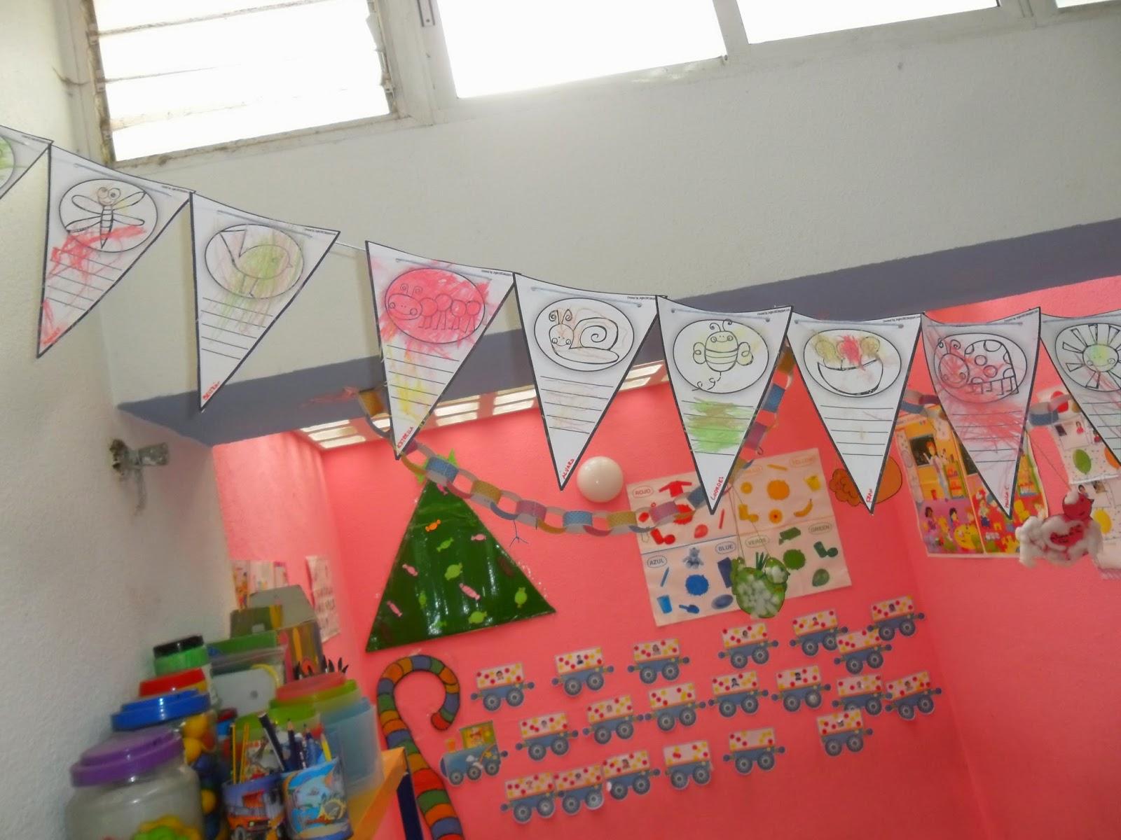 Materiales para educaci n infantil para la primavera for Decoracion invierno
