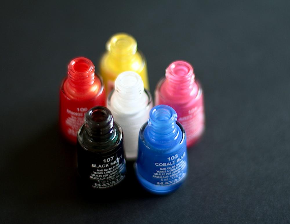 mavala technicolor vernis à ongles collection été 2014 swatches