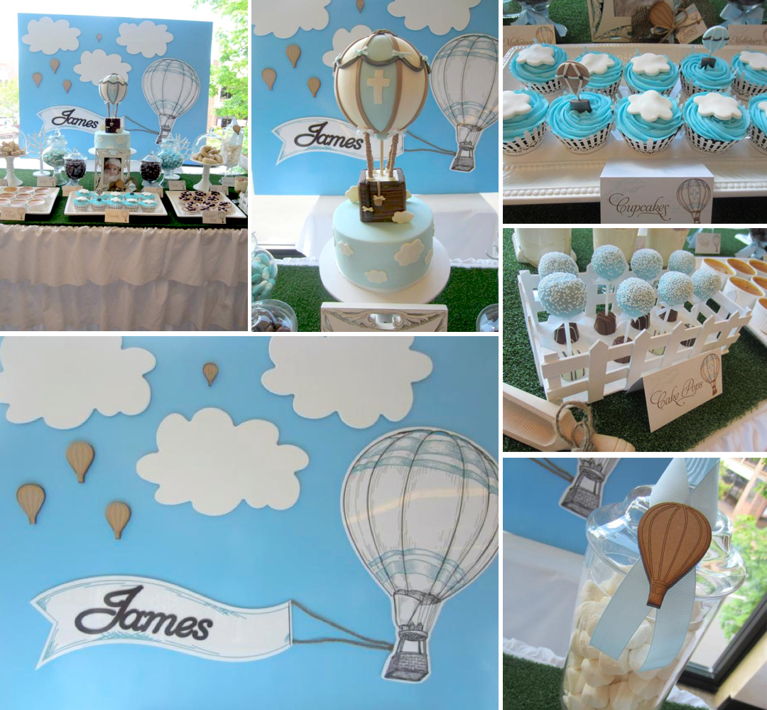 Kids party hub baby shower and christening theme ideas for Baby baptism decoration