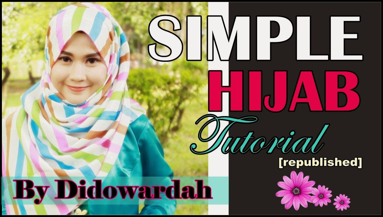 Tutorial Hijab Segi Empat Simple Menutup Dada 49