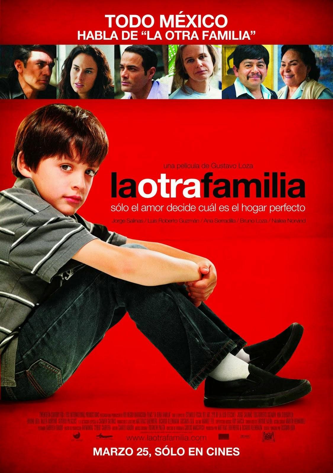 La otra familia.  Poster