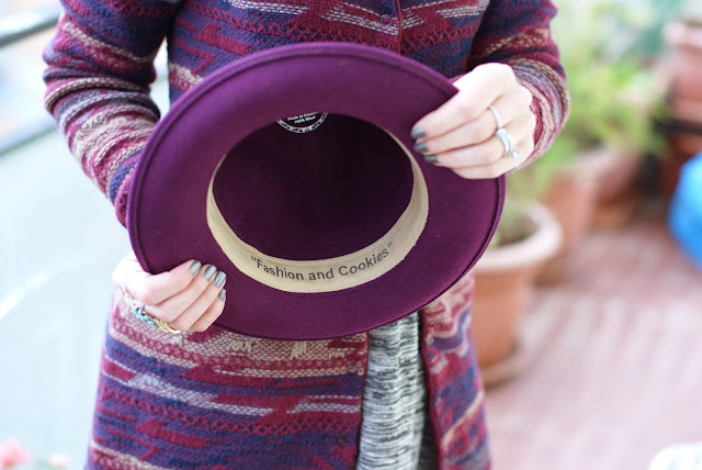 Ecua-Andino hat, Fashion and Cookies, fashion blogger