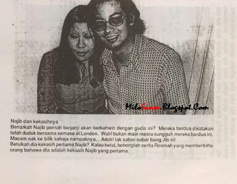 ... sama dengan Najib Tun Razak semasa di London . Malah mereka dikatakan