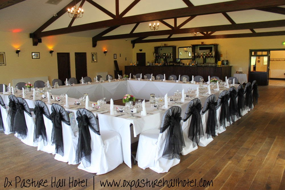Black and white wedding theme at Ox Pasture Hall Hotel | Anyonita-nibbles.co.uk