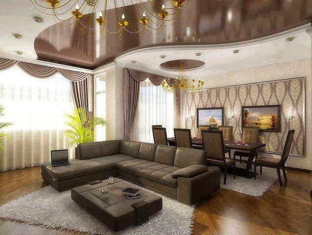 dise os de salas con falsos techos salas con estilo On diseños de techos para salas