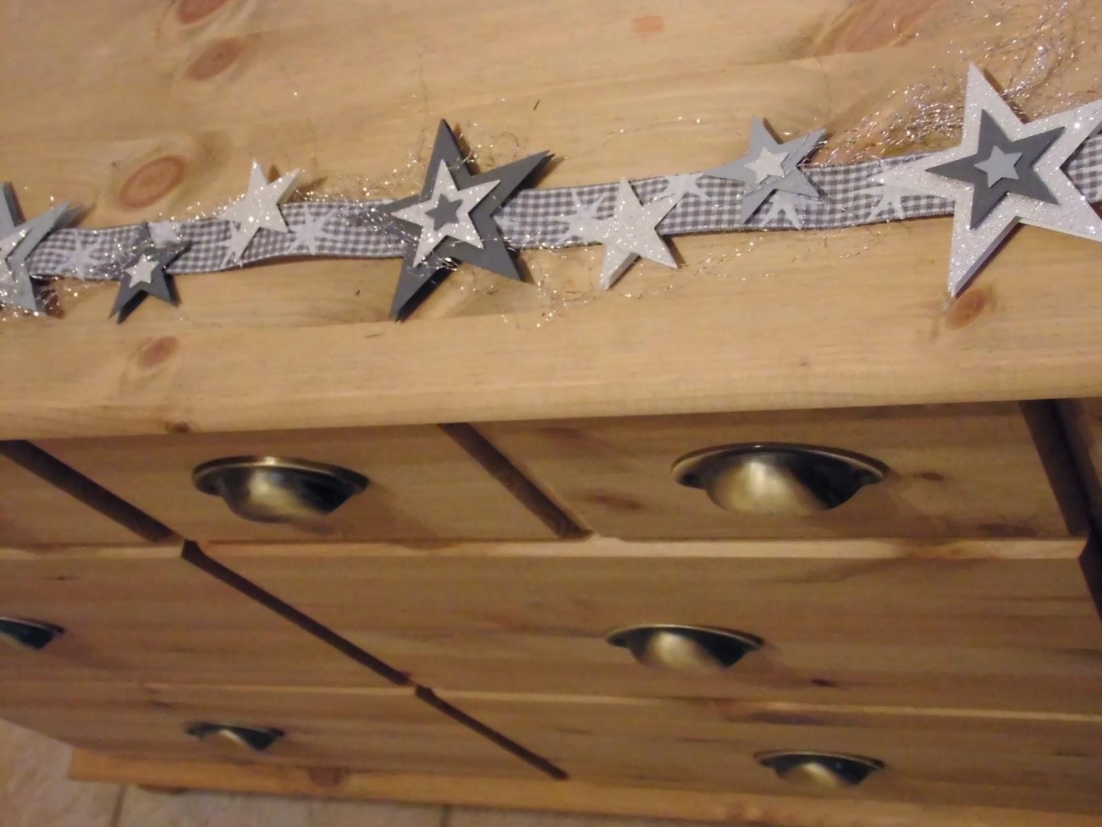 kreativ am deich home deko sternenkette zum aufh ngen oder als tischband. Black Bedroom Furniture Sets. Home Design Ideas