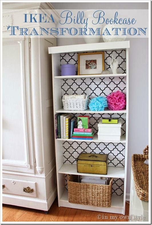 http://inmyownstyle.com/2012/04/ikea-billy-bookcase-makeover.html