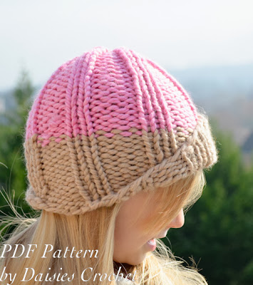 knitting girls hat pattern