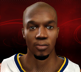 NBA 2K13 David West Cyberface Patches