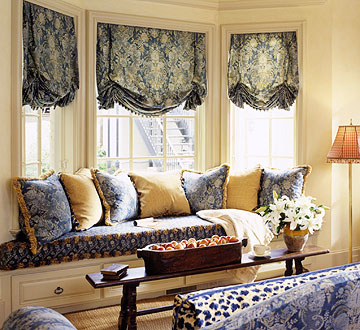 New Home Interior Design Bay And Bow Window Treatment Ideas
