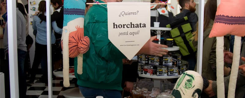 Horchata Magazine: Esto no es leche, es Oro Chata