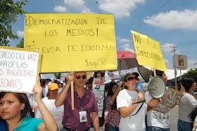 PROTESTA DE LA IZQUIERDA