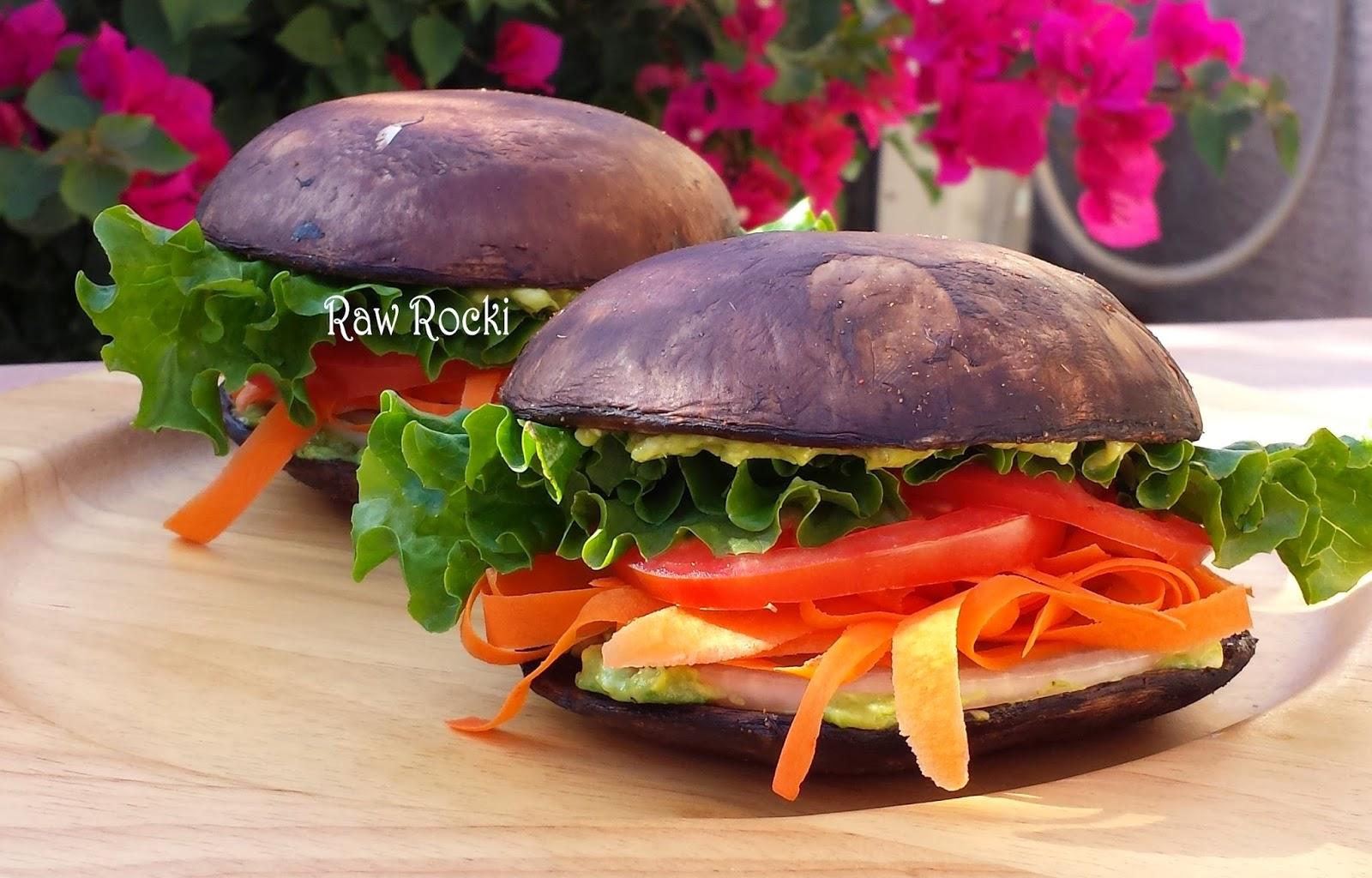 Raw vegan recipes by rocki raw vegan veggie burgers raw vegan veggie burgers forumfinder Images