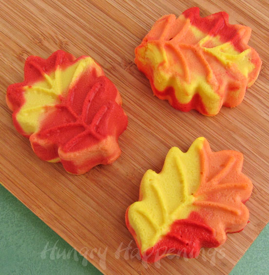 Cute easy fall desserts festive fall cheesecake leaves