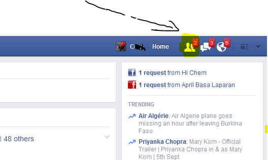 How To Confirm All Facebook Friends Request at Once