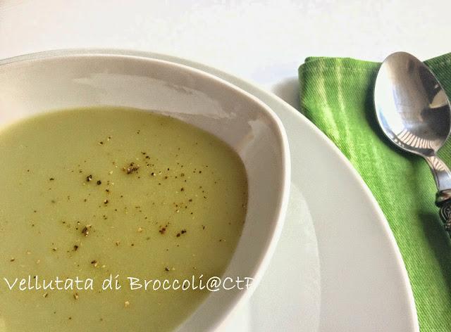 vellutata del cavolo ( alias broccoli mix ) e stop !