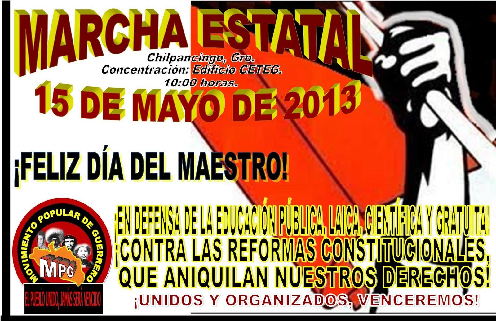 15 mayo: