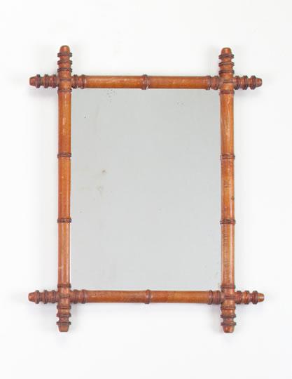 Bamboo Mirror Frame5