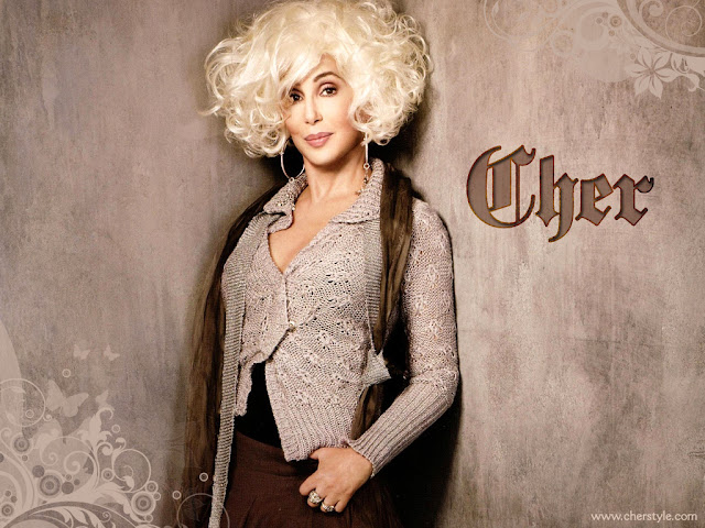 Cher blond hair