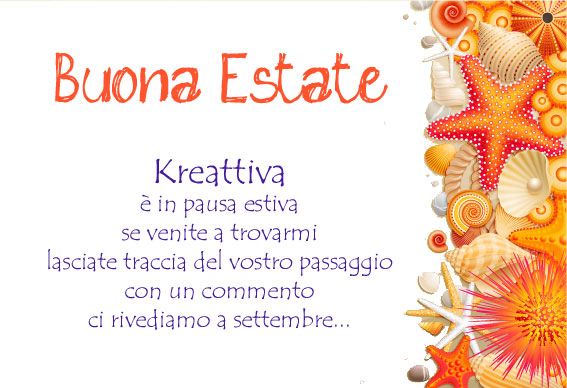 buona estate!!!