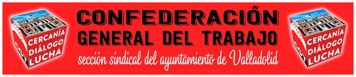 Blog de la CGT en el Ayuntamiento de Valladolid.