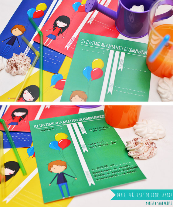 My daytime dreams modelli stampabili inviti per feste - Modelli di ghirlanda stampabili ...