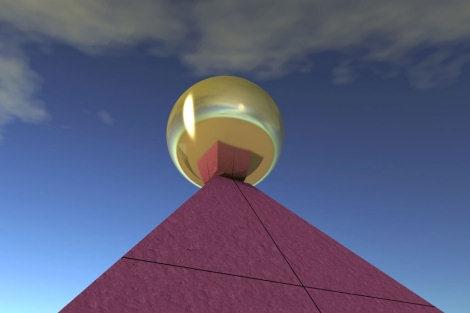La Pirámide de Keops Coronada