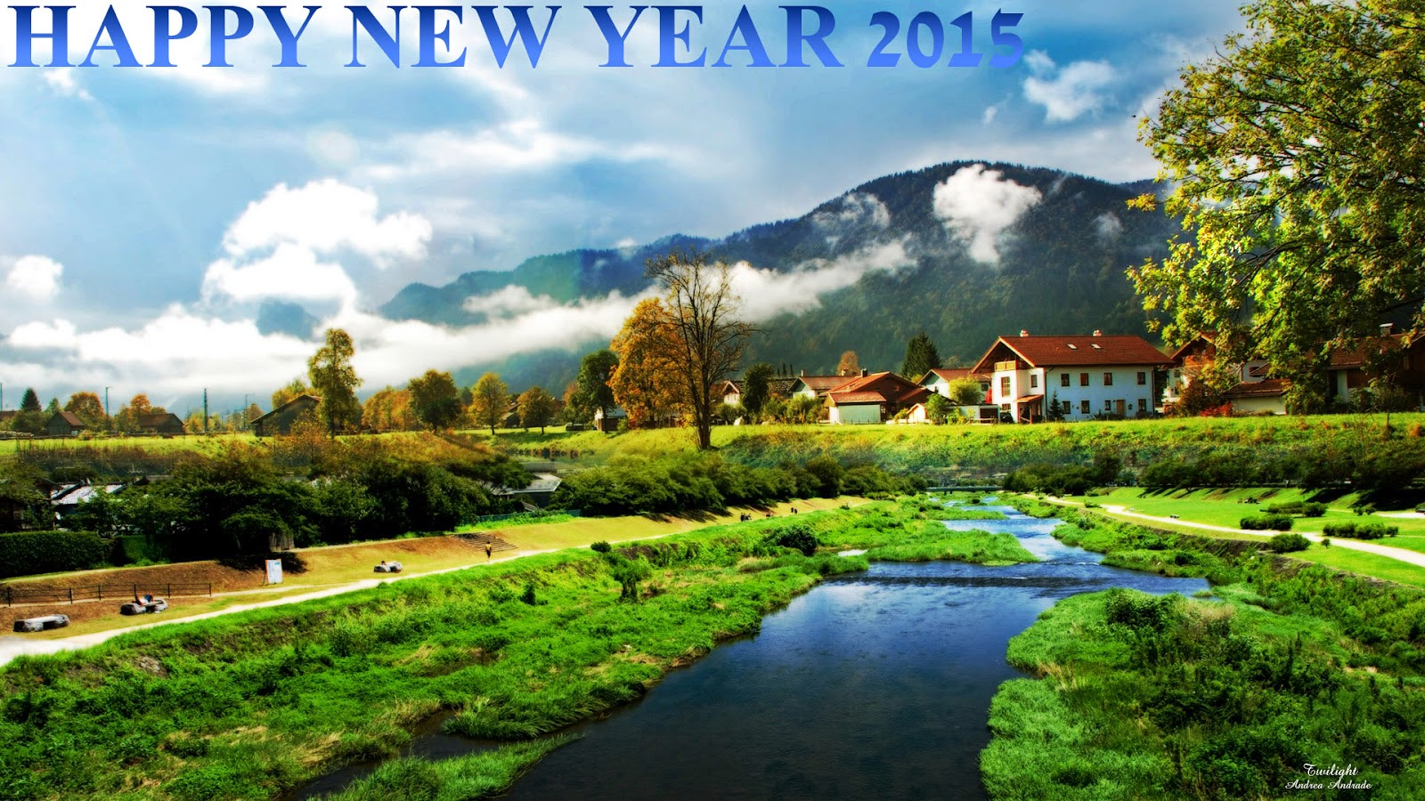 Latest Beautiful Happy New Year Photos 2015 – Free Cards