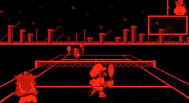 Virtual Boy Mario Tennis