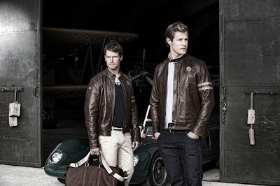 Lotus Originals Heritage Racing Leather Jacket