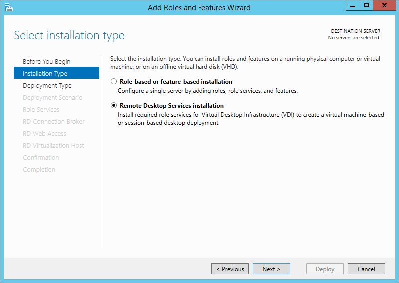 how to set up rdp connection