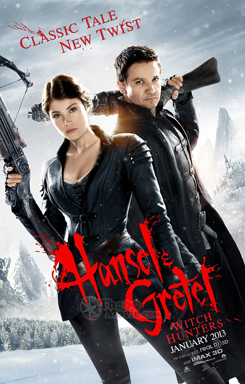Download Movie : Hansel & Gretel: Witch Hunters BlueRay 1080p