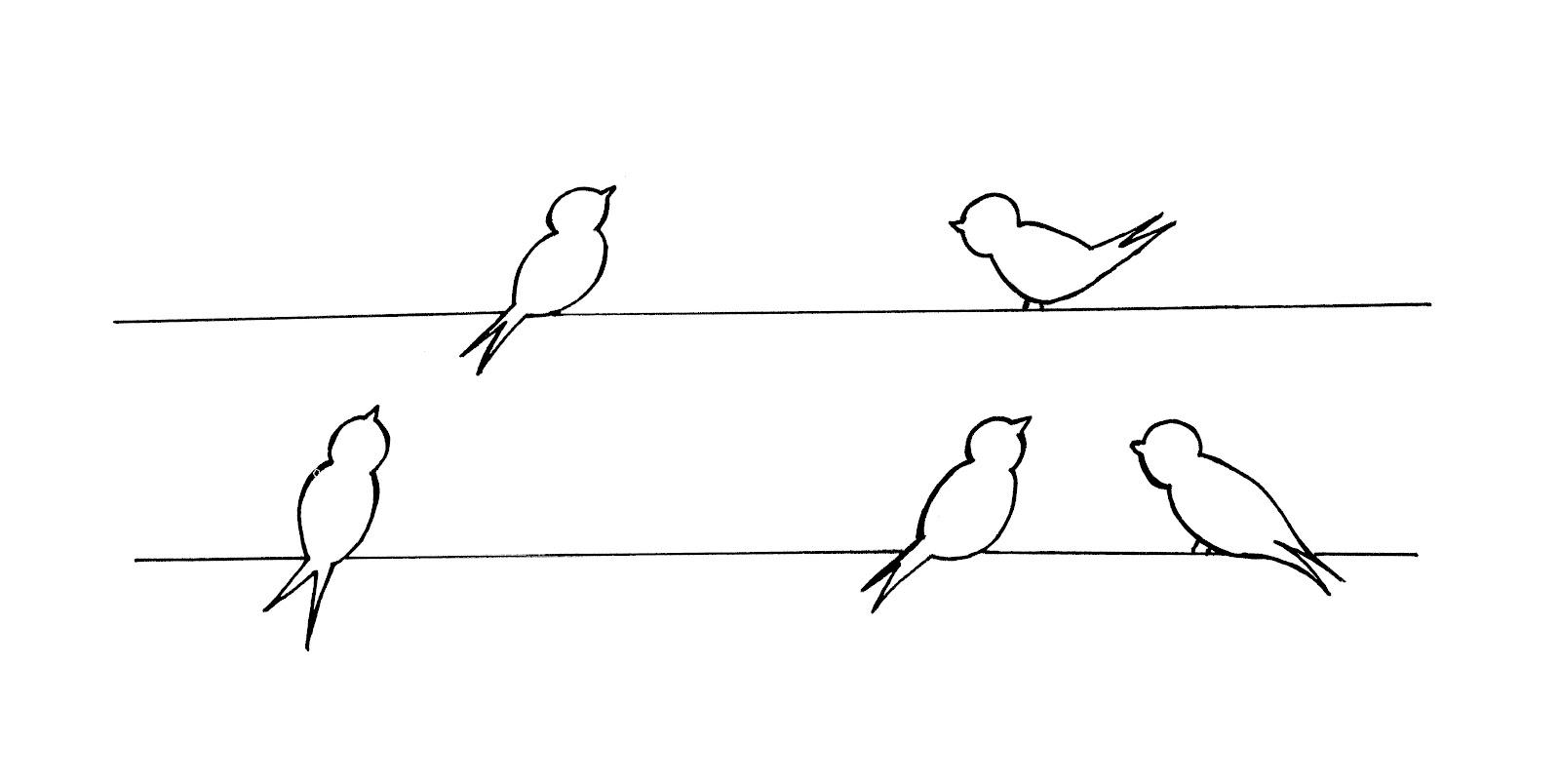 easy bird patterns patterns kid