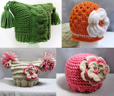 Patterns for baby hats (Click on the picture)