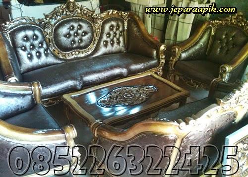 gambar sofa buatan jepara dari kayu jati